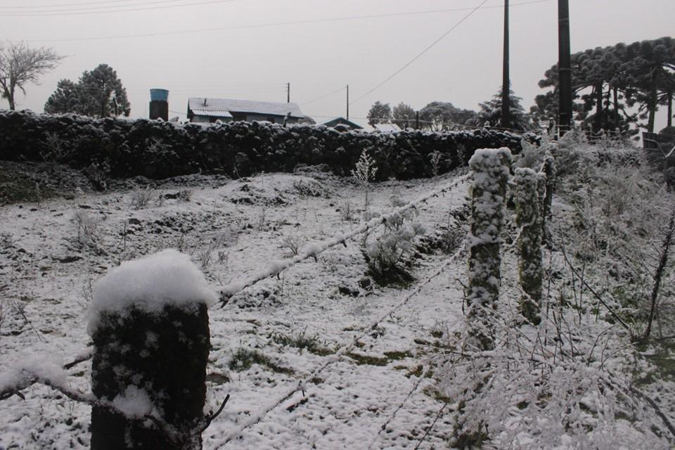 Neve em São Joaquim